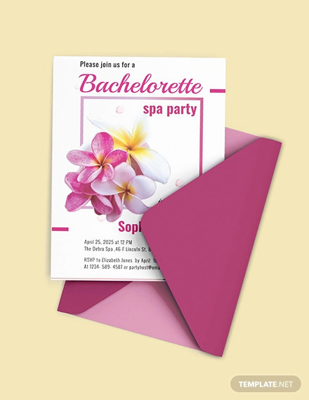 Spa Party Invitation Templates New 10 Spa Party Invitation Designs & Templates Psd Ai