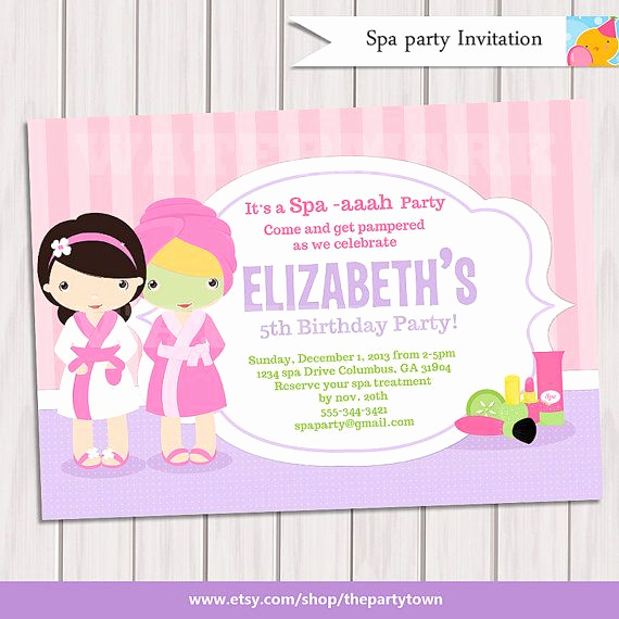 Spa Party Invitation Templates Unique Christmas Invitation Printable Oh What Fun Chalkboard