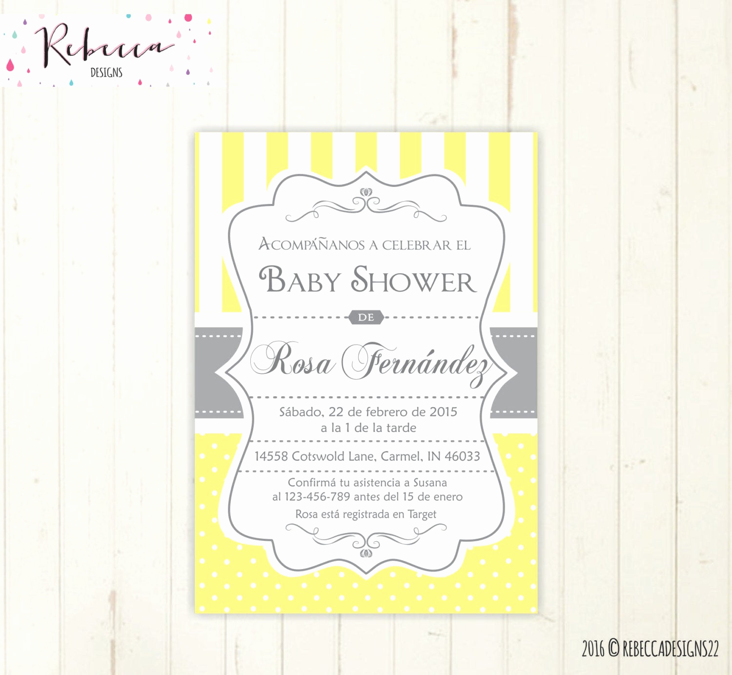 Spanish Baby Shower Invitation Inspirational Baby Shower Invitation Spanish Boy or Girl Baby Shower Spanish