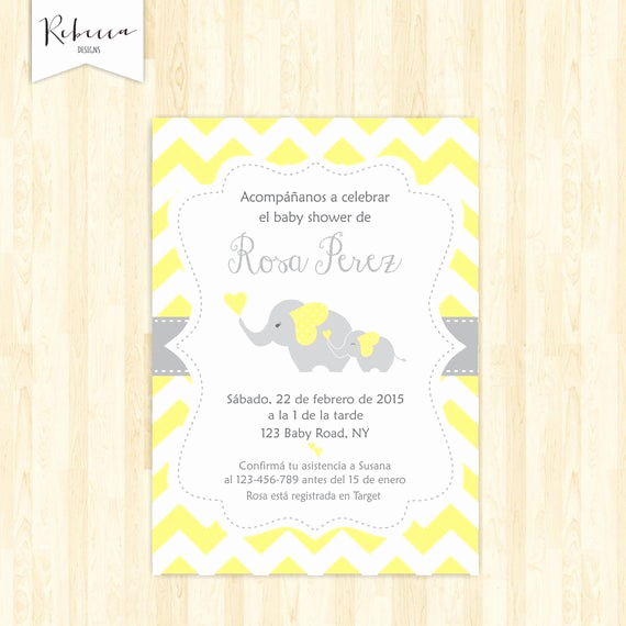 Spanish Baby Shower Invitation Lovely Baby Shower In Spanish Espanol Girl Baby Shower Espanol Invite