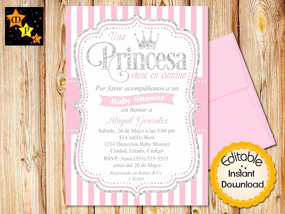 Spanish Baby Shower Invitation Wording Beautiful 28 Best Spanish Baby Shower Invitations Images On