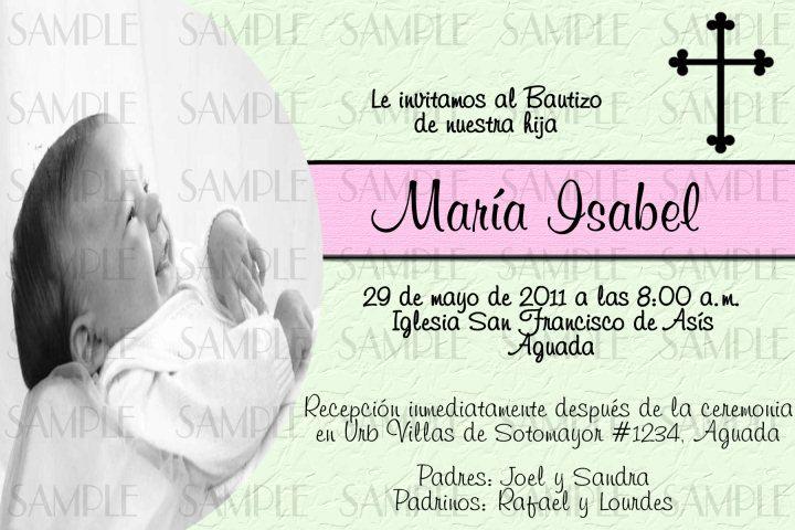 Spanish Birthday Invitation Wording Lovely Baptism Invitations In Spanish