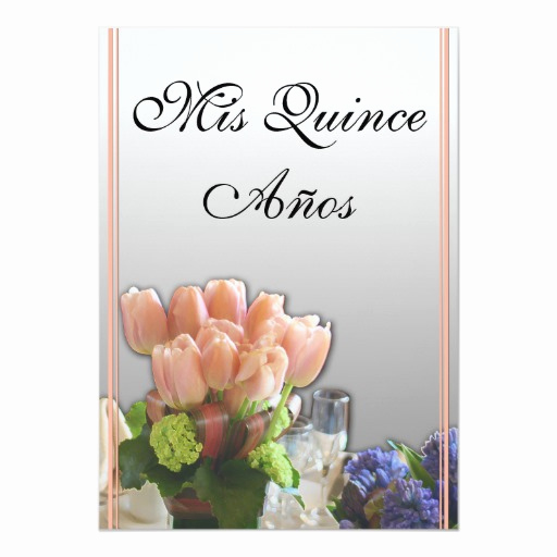Spanish Quinceanera Invitation Wording New Quinceanera Invitations In Spanish
