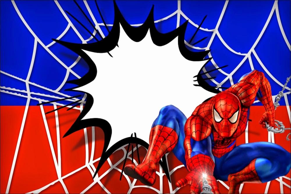 Spiderman Birthday Invitation Maker Beautiful Spiderman Free Printable Invitation Templates