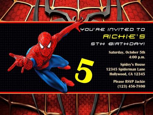 Spiderman Birthday Invitation Maker Best Of Invitation Card