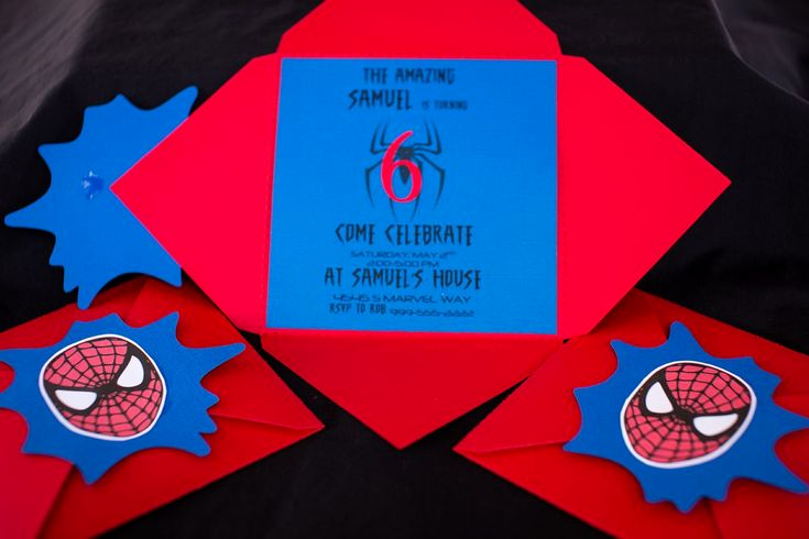 Spiderman Birthday Invitation Maker Elegant Handmade Superhero Birthday Invite Ideas Google Search
