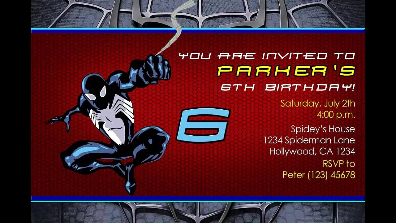 Spiderman Birthday Invitation Maker Inspirational How to Make A Spider Man Birthday Invitation In Photoshop