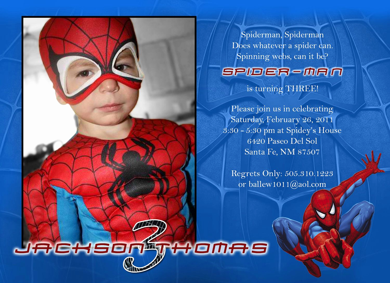Spiderman Birthday Invitation Template Beautiful Super Cool Invites Spiderman Decor In 2019