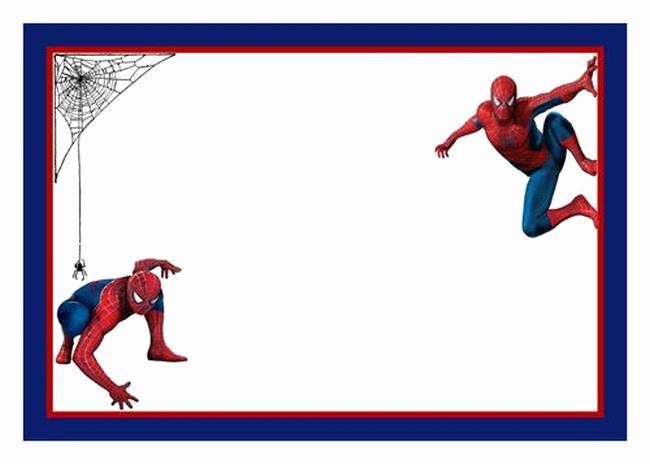 Spiderman Birthday Invitation Template Best Of Spiderman Free Printable Invitation Templates