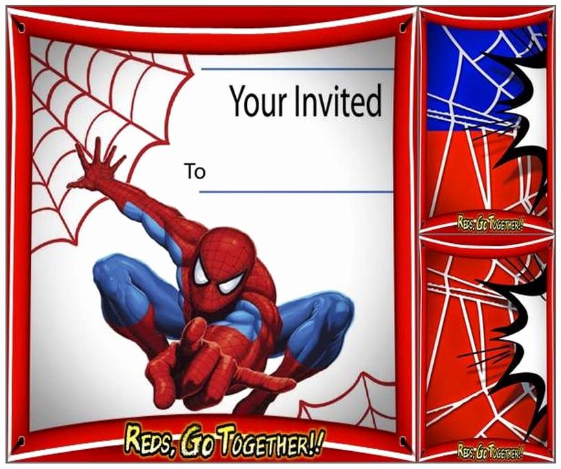 Spiderman Birthday Invitation Template Inspirational Free Spiderman Birthday Invitation Printable