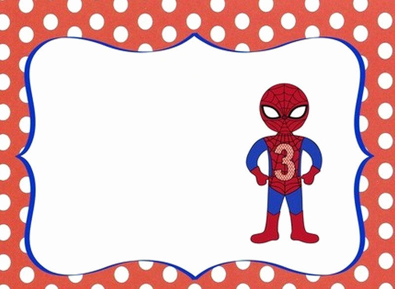 Spiderman Birthday Invitation Template Lovely Impress Your Guests with these Spiderman Birthday Invitations