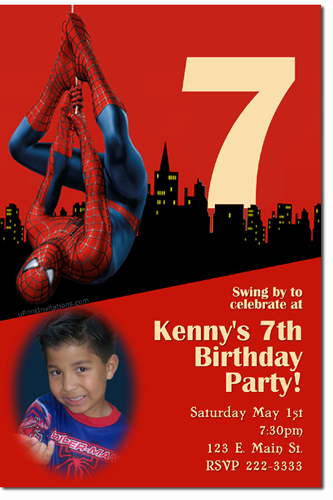Spiderman Birthday Invitation Template New Spiderman Birthday Invitations Super Hero Birthday
