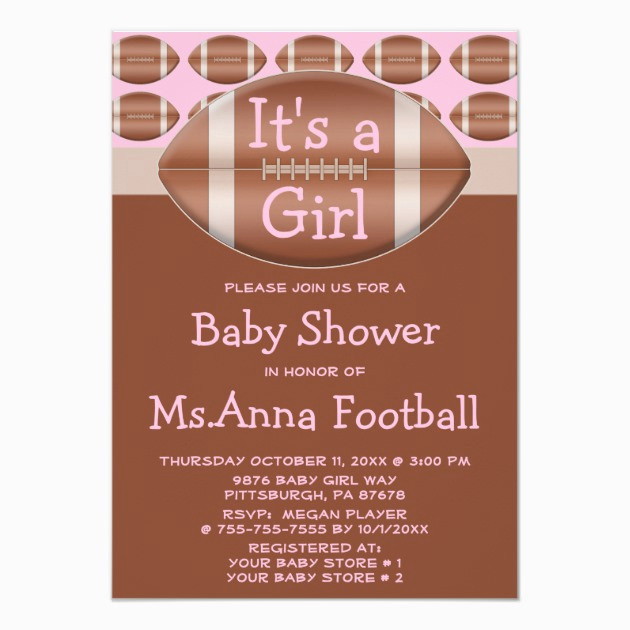 Sports Baby Shower Invitation Templates Awesome Custom Sports Baby Shower Invites Templates