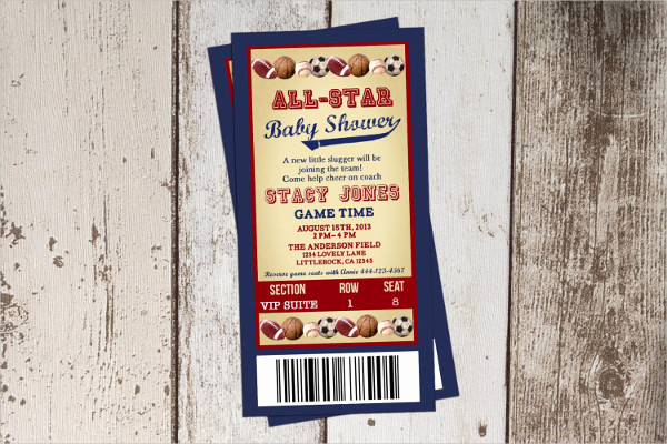 Sports Ticket Invitation Template Free Beautiful 18 Printable Ticket Templates Psd Ai Indesign