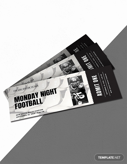 Sports Ticket Invitation Template Free Inspirational 16 Free Admission Ticket Templates