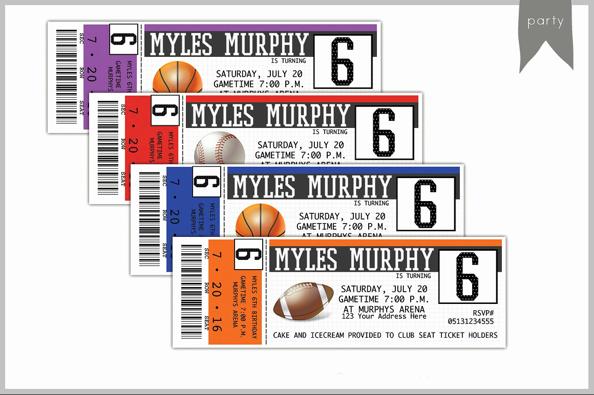 Sports Ticket Invitation Template Free Inspirational 26 Card Designs In Psd