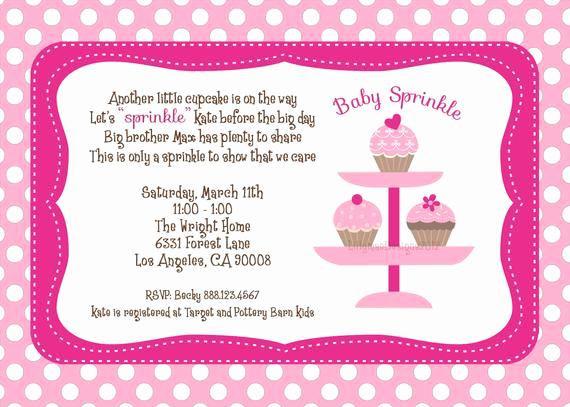 Sprinkle Baby Shower Invitation Wording Best Of Items Similar to Baby Sprinkle Shower Invitation Digital