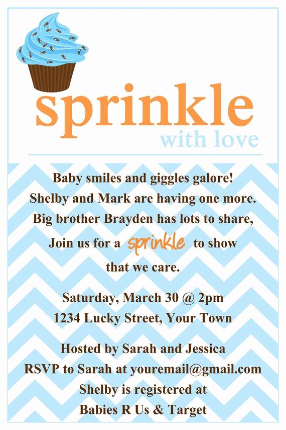 Sprinkle Baby Shower Invitation Wording Luxury Best 25 Baby Shower Invitation Templates Ideas On