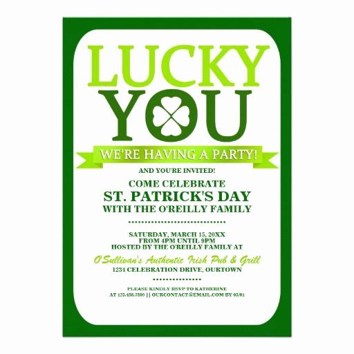 St Patrick Day Invitation Awesome 143 Best Images About Saint Patrick S Day Invitations and