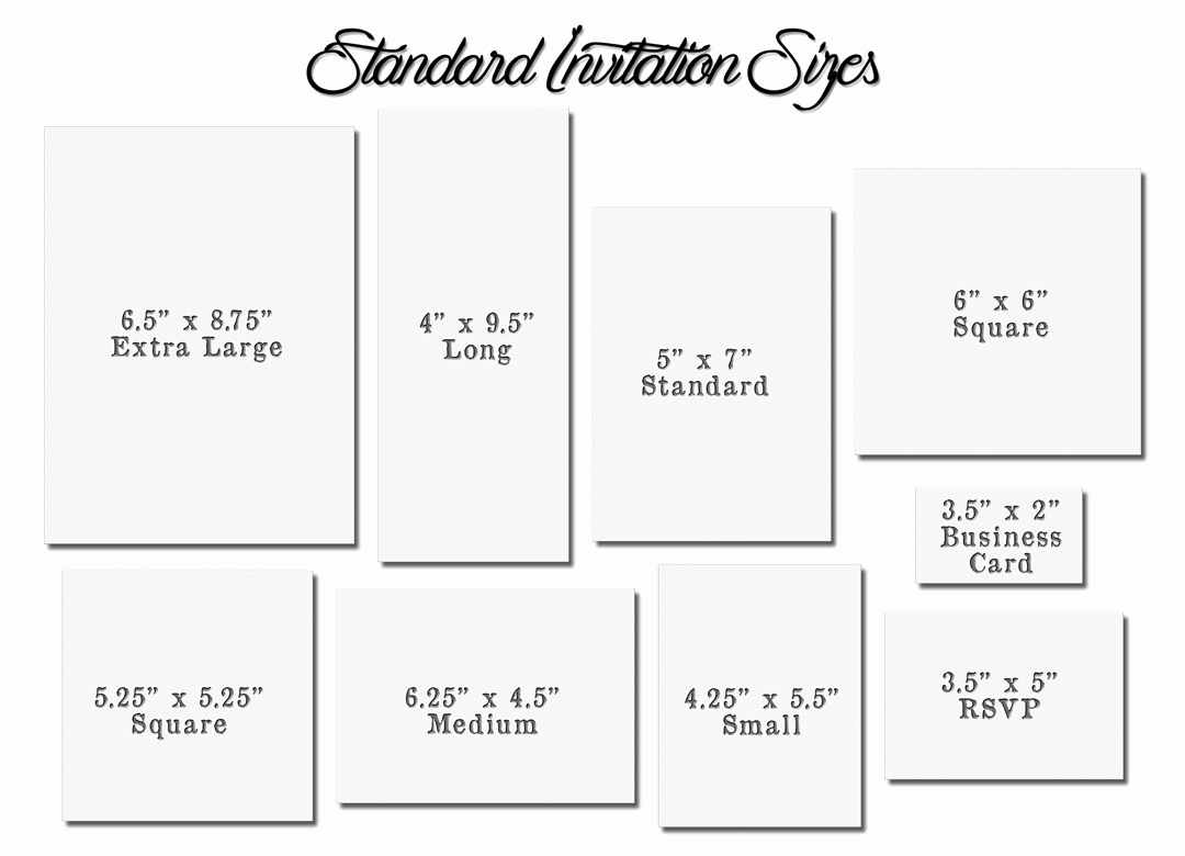 Standard Wedding Invitation Size Best Of Invitation Card Size Standard Wedding Invi and