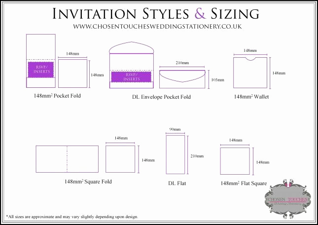Standard Wedding Invitation Size Fresh Best 25 Envelope Size Chart Ideas On Pinterest