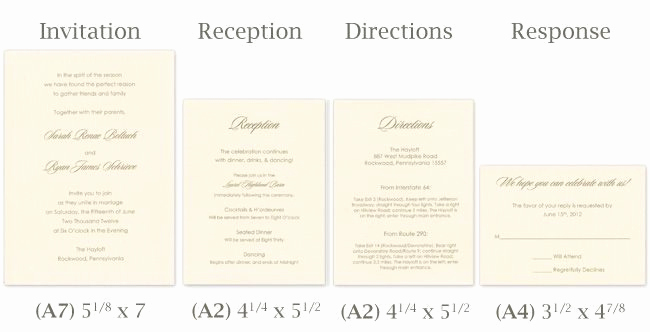 Standard Wedding Invitation Size Fresh Wedding Card Template Size