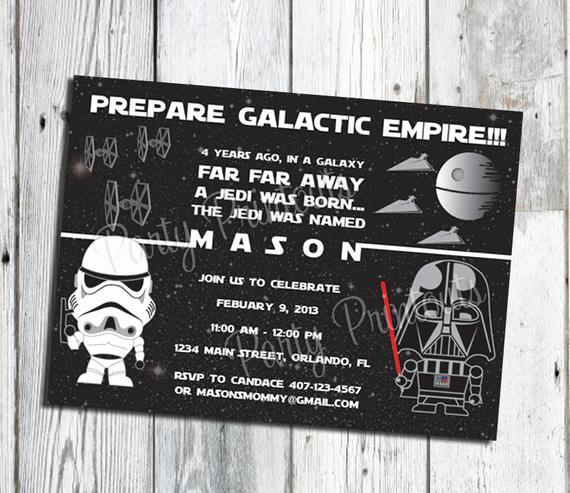 Star Wars Birthday Invitation Beautiful Star Wars Invitation Printable Star Wars Party Invitations