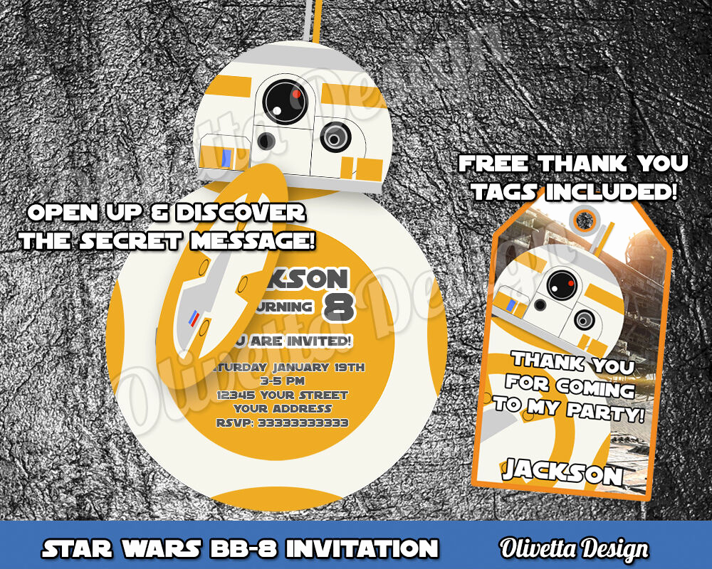 Star Wars Birthday Invitation Elegant Star Wars Birthday Invitation Personalized You Print