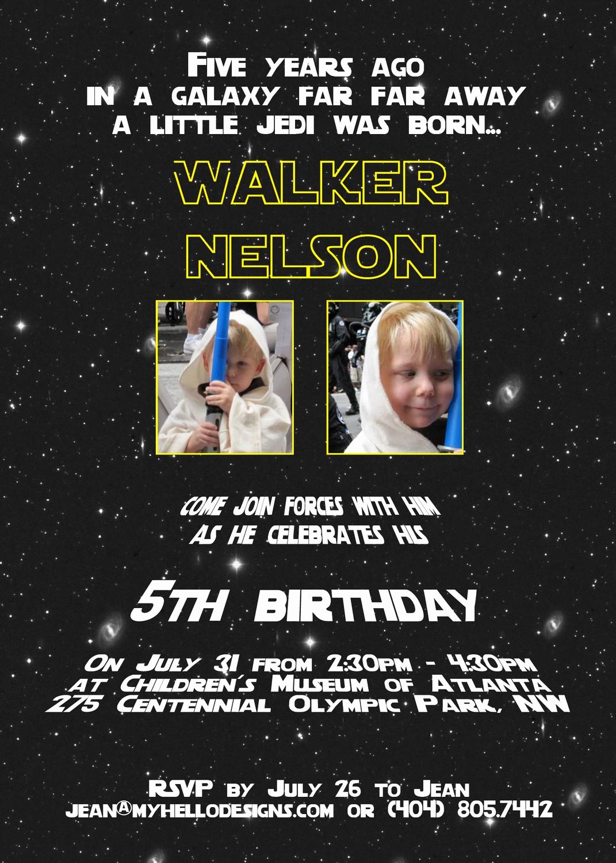 Star Wars Birthday Invitation Lovely Star Wars Birthday Invitations Wording