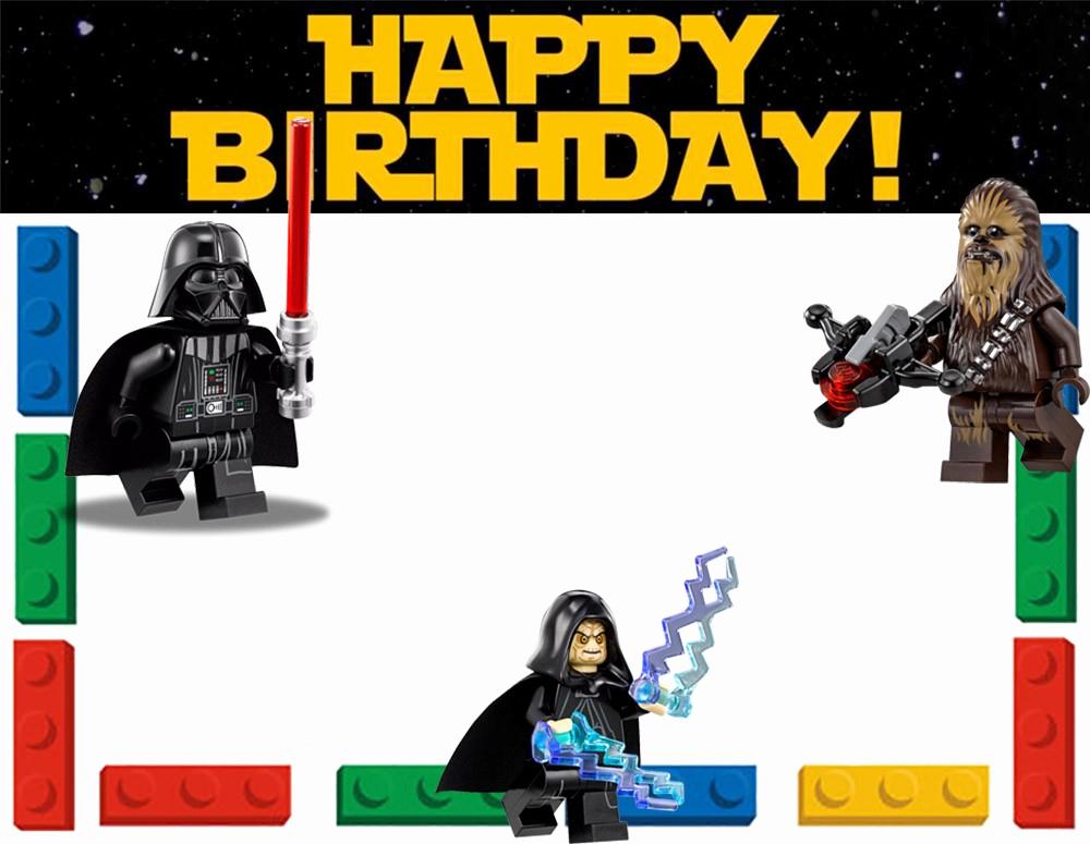 Star Wars Birthday Invitation Template Fresh Free Printable Lego Invitation Templates