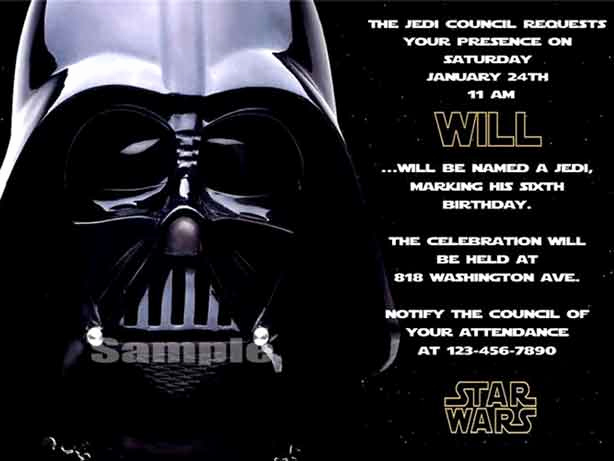 Star Wars Birthday Invitation Template Inspirational the Best Star Wars Birthday Invitations by A Pro Party