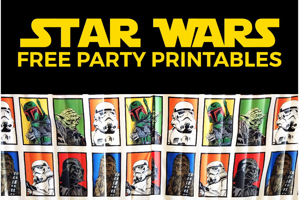 Star Wars Invitation Printable Free Beautiful Star Wars Party Printables A No Stress Way to A Galactic