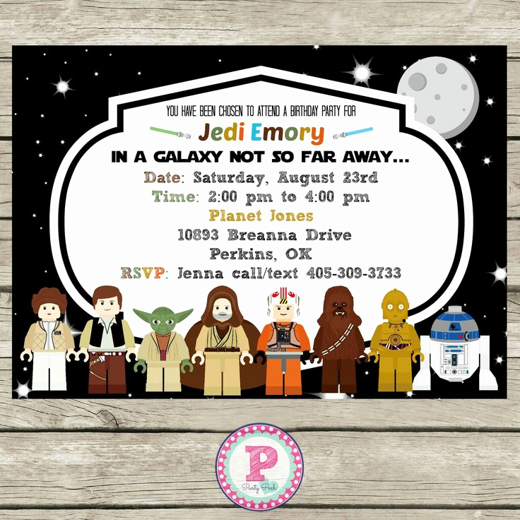 Star Wars Invitation Printable Free Unique 25 Best Ideas About Lego Birthday Invitations On