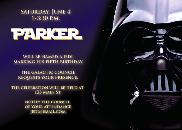 Star Wars Invitation Template Awesome Star Wars Birthday Invitations Ideas for Kids – Free