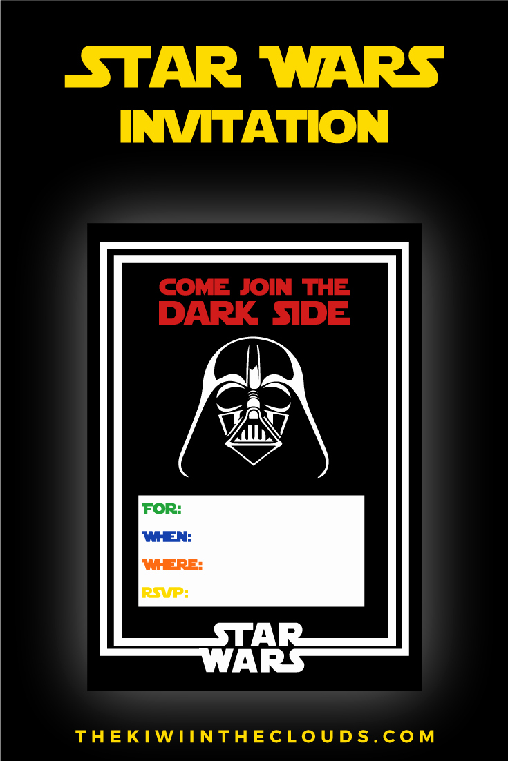 Star Wars Invitation Templates Free Lovely Star Wars Party Printables A No Stress Way to A Galactic