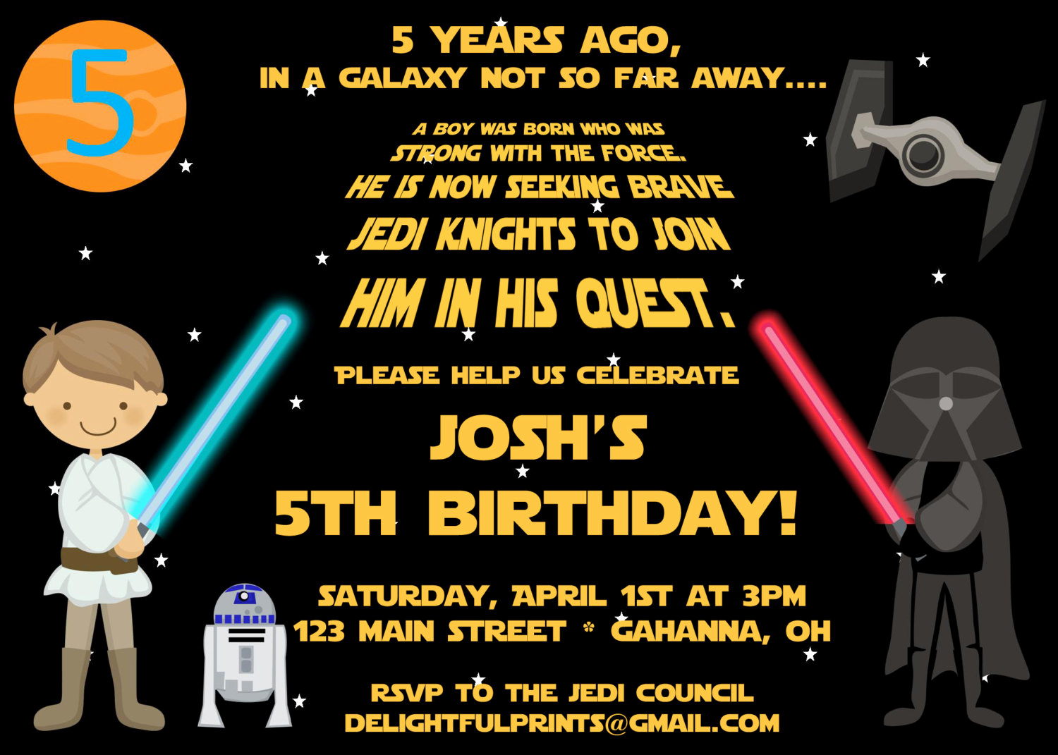 Star Wars Invitation Templates Fresh Free Printable Star Wars Birthday Party Invitations