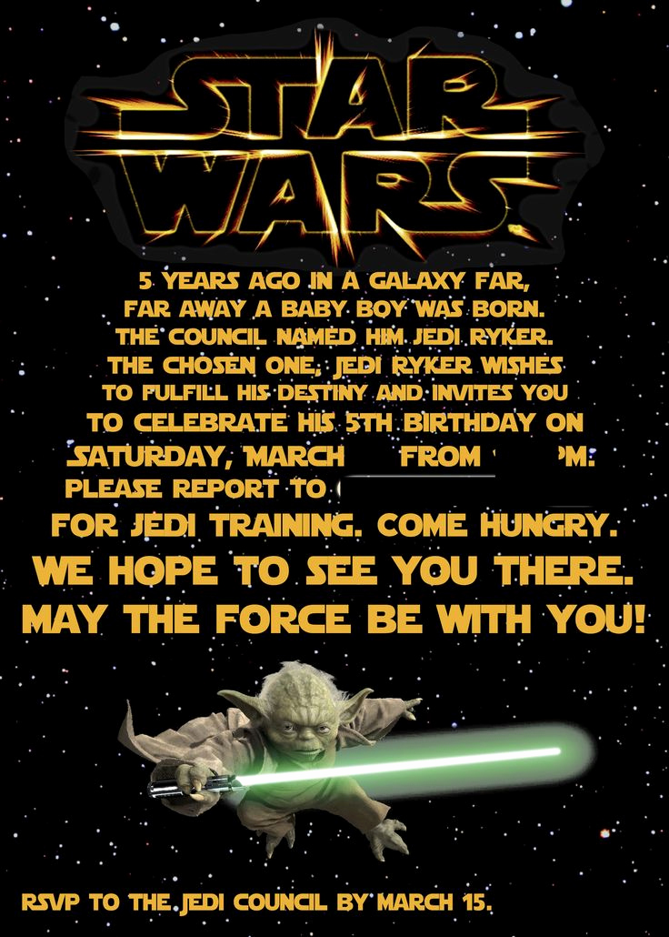 Star Wars Invitation Wording Beautiful Best 25 Star Wars Invitations Ideas On Pinterest