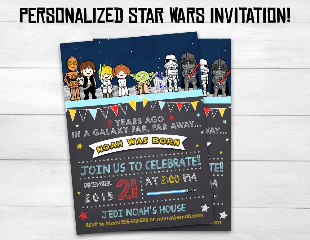 Star Wars Invitation Wording Fresh Star Wars Invitation Star Wars Kids by Superinstantparty