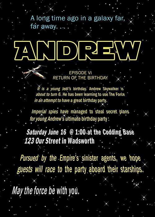 Star Wars Party Invitation Template Inspirational Best 25 Star Wars Invitations Ideas On Pinterest