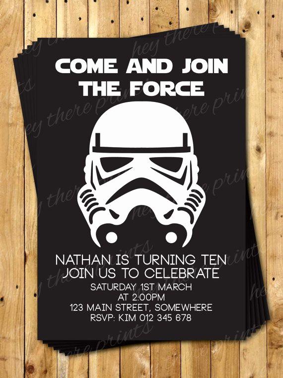 Star Wars Party Invitation Template Luxury 1000 Ideas About 21st Birthday Invitations On Pinterest