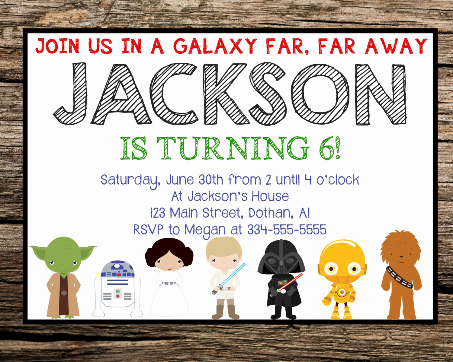 Star Wars Party Invitation Template Luxury Free Star Wars Invitation Templates