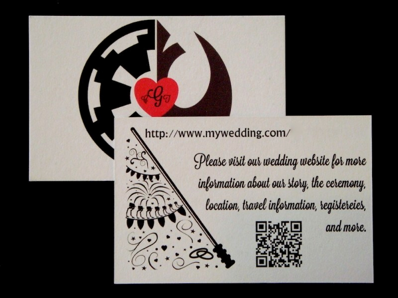 Star Wars Wedding Invitation Elegant An Elegant Star Wars Invitation Suite for A More
