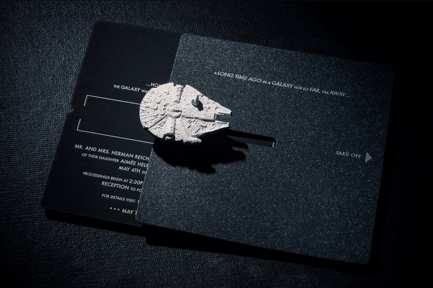 Star Wars Wedding Invitation Elegant Star Wars Wedding Invitation Trumps All Other Invitations