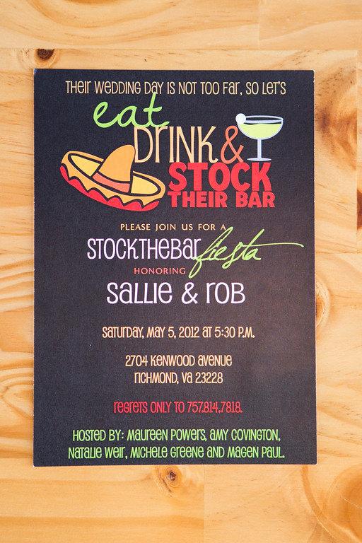 Stock the Bar Invitation Lovely Stock the Bar Party Invitation Wedding Shower Invitation