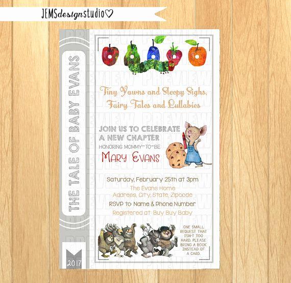 Storybook Baby Shower Invitation Luxury Best 25 Storybook Baby Shower Ideas On Pinterest