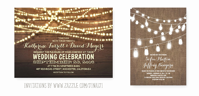 String Lights Wedding Invitation Awesome String Of Lights Barn Wedding Invitation – Need Wedding Idea