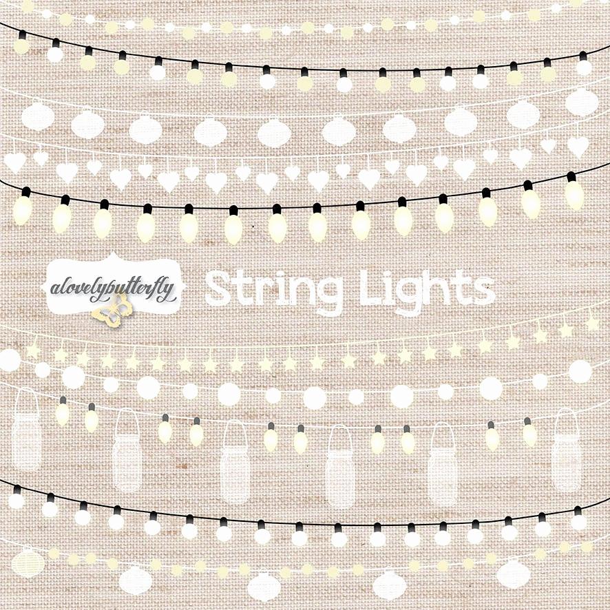 String Lights Wedding Invitation Best Of String Lights Clipart Wedding Invitation Clipart Lights