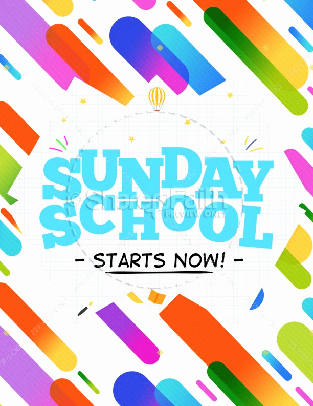 Sunday School Invitation Flyer Best Of Sunday School Jelly Bean Children S Church Flyer Template