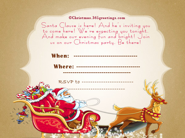 Sunday School Invitation Letter Awesome Christmas Invitation Template and Wording Ideas