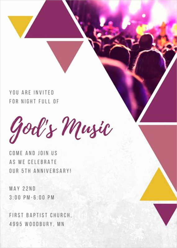 Sunday School Invitation Letter Beautiful 8 Church Invitation Templates Free Sample Example